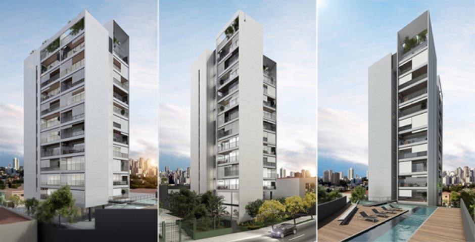Apartamentos compactos na Chácara Klabin