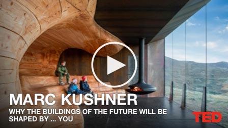 Porque os edifícios do futuro serão modelados por… você