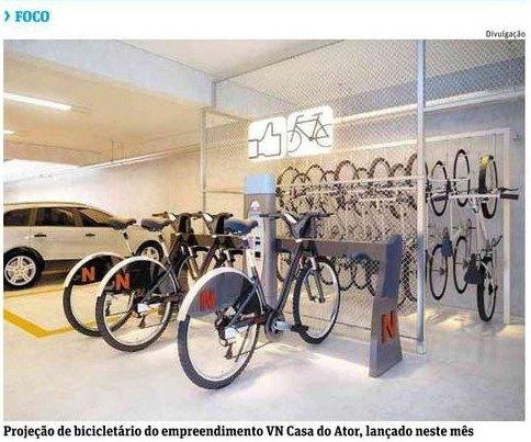 """Bicicletário e bike dobrável vêm de brinde em """"miniapês"""""""