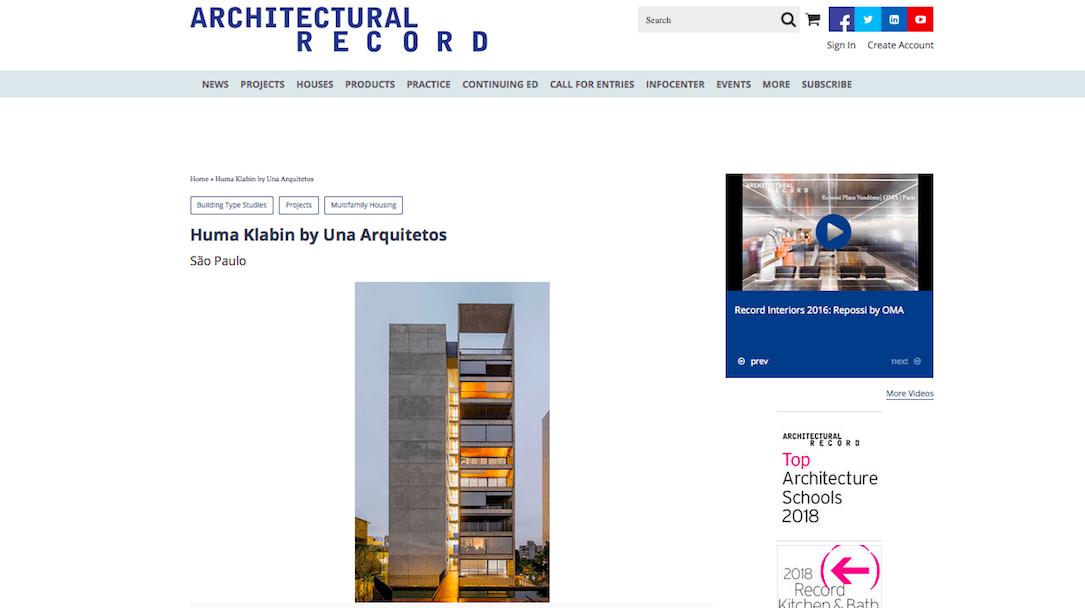 Huma Klabin by Una Arquitetos