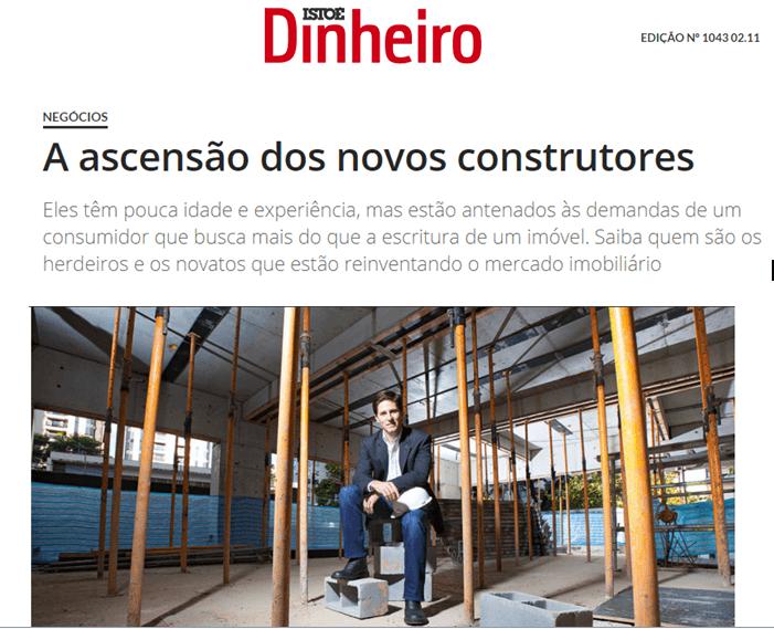 A ascensão dos novos construtores