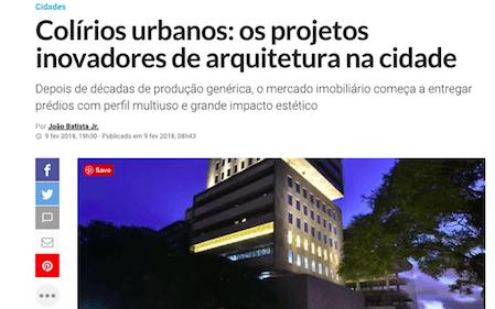Colírios urbanos: os projetos inovadores de arquitetura na cidade
